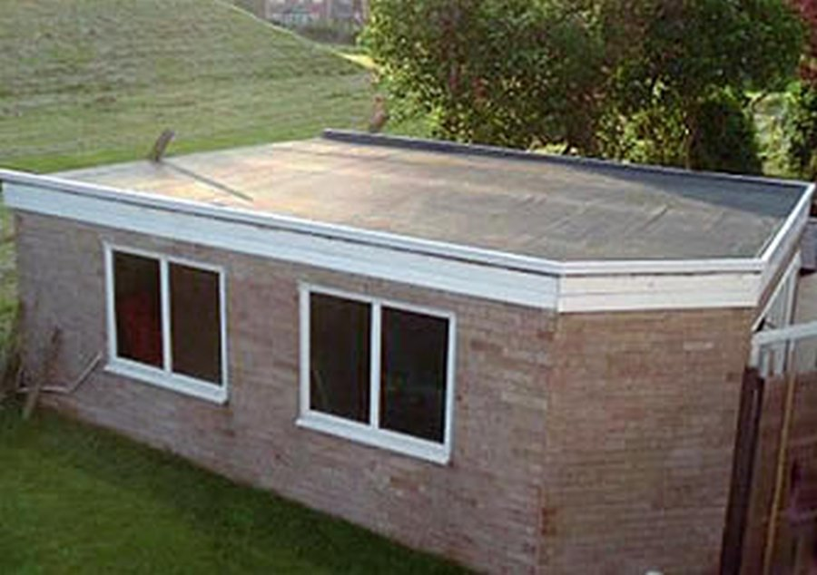 Roll Roof Installation By Rhode Island Roofing Contractor