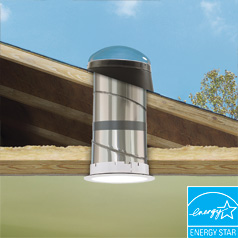 Sun Tunnel Skylights Installed By A Roof Doctor Your