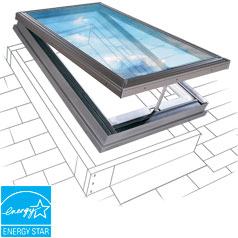 Vented Skylights Installed By A Roof Doctor Your