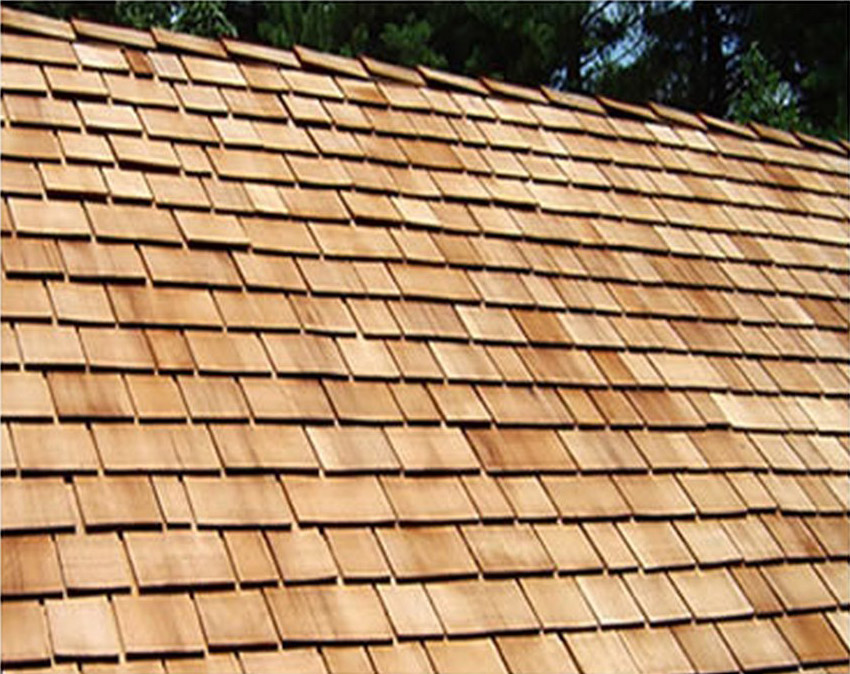 The Roofing Doctor Installs Wood Shingle Roofs.