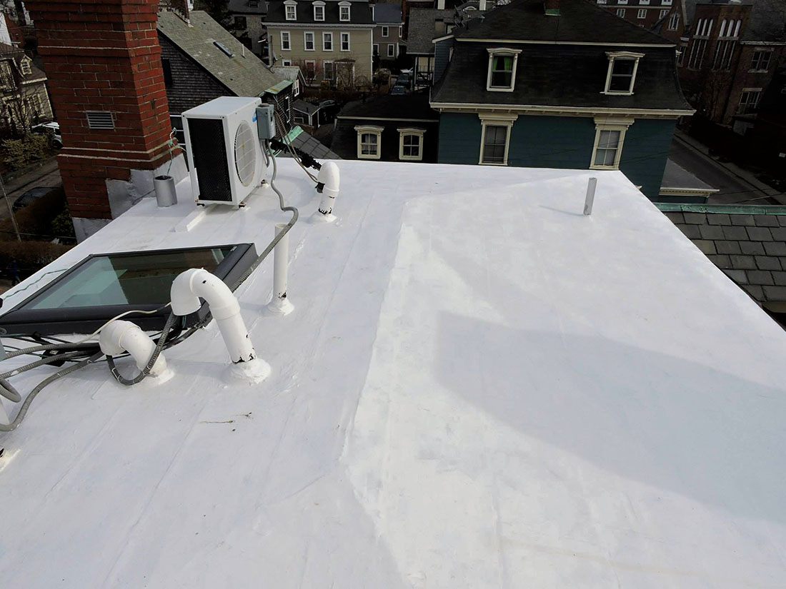 Superb EPDM Has Been Used In Various Installations Such As Pond Liners, Tunnels,  Foundations, Thru Wall Flashings, Terraces, Garden Roofs, And RV Roofs.